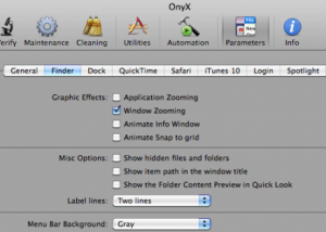 Fixing a Slow-Responding Finder in OSX 1