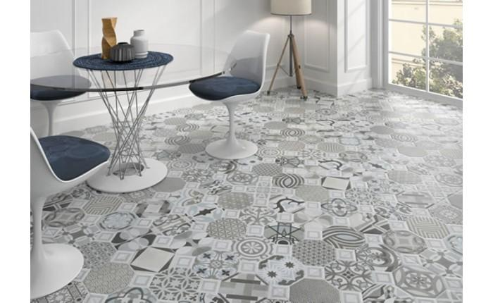 patterned kitchen floor tiles a dozen ways to work in patterned tile keener living 4106